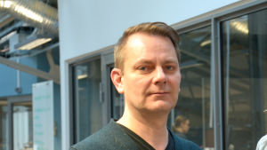 Peter Nynäs i närbild.