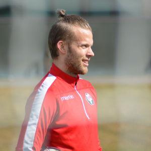 Emil Öhberg är målvakt i FF Jaro.