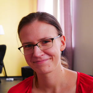Porträtt på Malin Axtell.