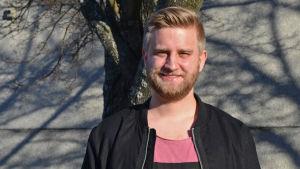 Joel Harkimo, riksdagsvalskandidat 2015 för Samlingspartiet i Helsingfors valkrets