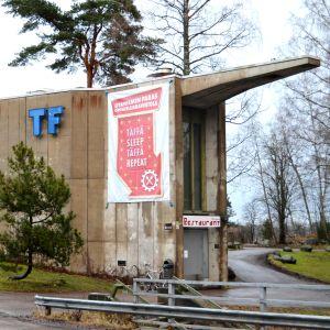 Teknologföreningens nationshus Urdsgjallar i Esbo.