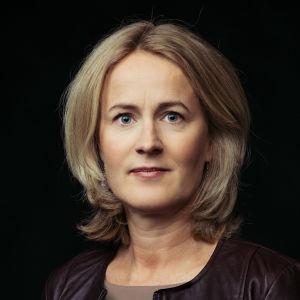 MOT:n toimittaja Minna Knus-Galán.