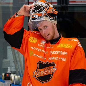 KooKoos målvakt Victor Brattström.