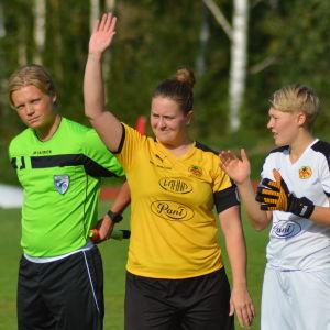 Annika Grundvall är kapten för IK Myran.