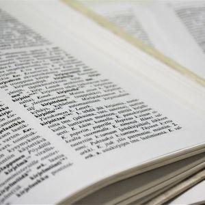 Sanakirjan sivu