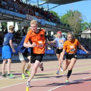 Winellska vann dubbel svensk stafett, Stafettkarnevalen 2018.