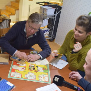 Marianne Isaksson-Heimberg, Kristina Dufholm, Sven Sundström och Susanna Louneva.