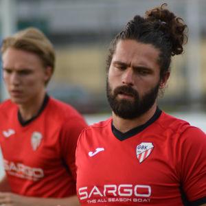 Benjamin Storbacka spelar i GBK.