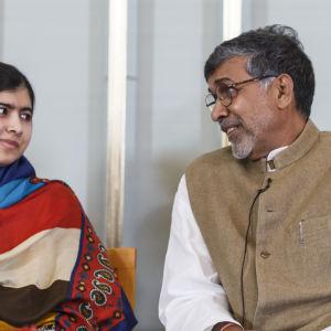 malala yousafzai, kailash satiarthi, nobels fredspris 2014