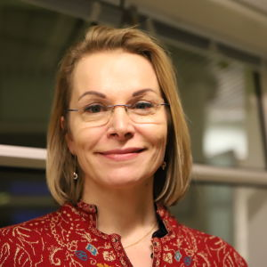 Ulla-Kirsikka Vainio lähikuvassa
