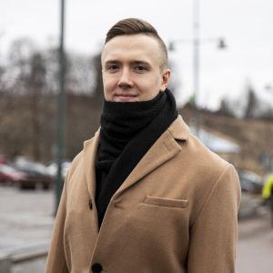Hermanni Harju Lappeenrannan satamassa.