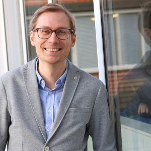 Porträttbild på Esbjörn Hägerstedt.