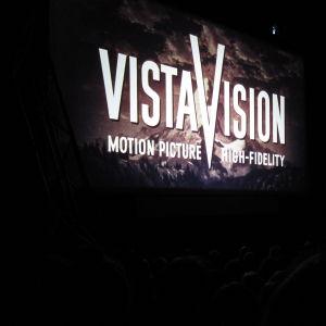 Vistavision-vinjetten i filmen Vertigo.