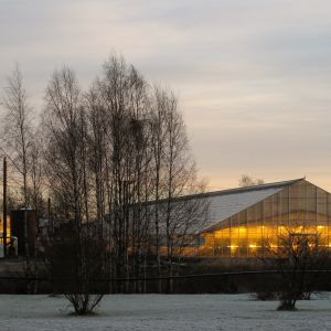 Västhus i Övermark.