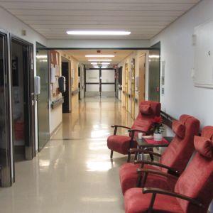Gamla förlossningsavdelningen på Lojo bb