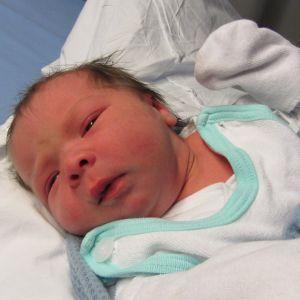 Petra Nordströms dotter föddes på Lojo bb