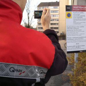 Privat parkeringsövervakning
