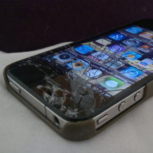 Rikkinäinen Iphone