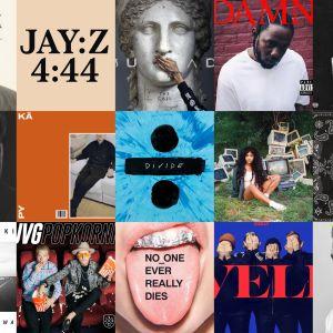 Vuoden tärkeimmät albumit.