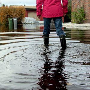 Översvämning i Toby, Korsholm