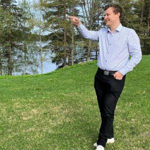 Ruokolahden kunnanjohtaja Matias Hilden.