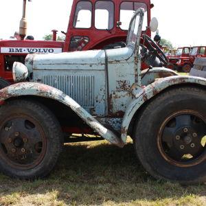 Biltraktorer tillverkades till stora delar under efterkrigstiden.