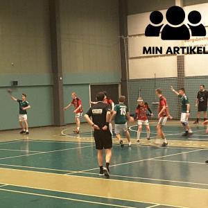 Ekenäs IF:s B-pojkar deltog i Rödspättecupen i Danmark.