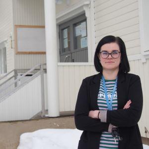 Muonion kunnanjohtaja Laura Enbuska-Mäki