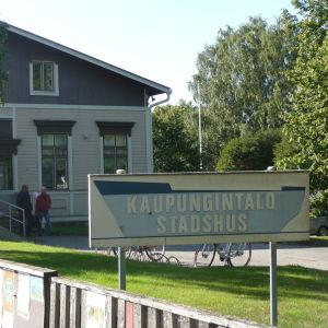 Stadshuset i Kaskö.