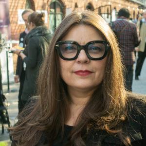 Katryna Dow på konferensen My data i Helsingfors.