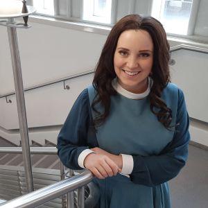 Sarah Nedergård nähdään Vaasan kaupunginteatterissa The Sound of Musicin Marian roolissa syksyllä 2020.