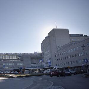 vid vy över framsidan av vasa centralsjukhus