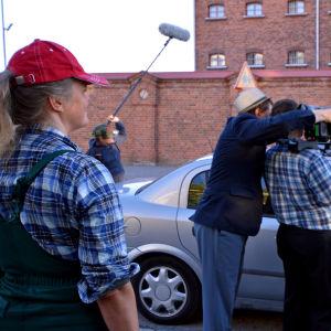 Inspelningar av Ekens gäng, en österbottnisk version av Jönssonligan.