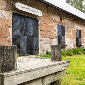 Rönnäs skrägårdsmuseum utifrån