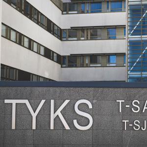 Bild på ÅUCS utifrån. T-sjukhuset.