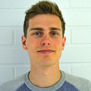 Daniel Donner nyhetsreporter på Svenska Yle