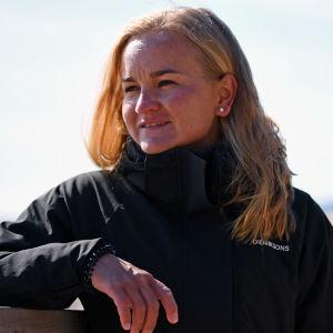 Liisa Lilja i Björneborg våren 2021.