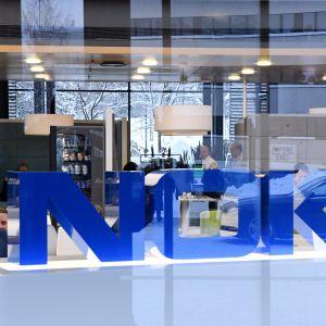 Nokias huvudkontor i Esbo den 30 januari 2019.