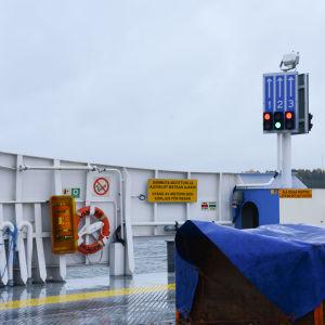 Bild från Skagenfärjan.