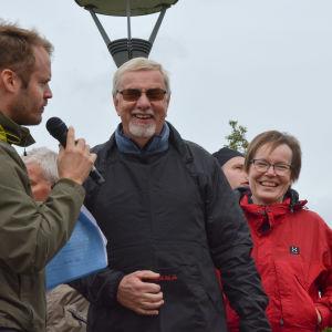 Olof Elenius och Maija Elenius.
