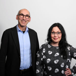 Juha Hakala ja Maria Jyrkäs.