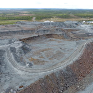 Suurikuusikon kaivos Kittilässä