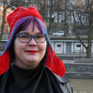 Profilbild på Niina Siivikko vid Aura å.