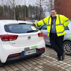 Joonas Grönlund ja vuokrattavat autot