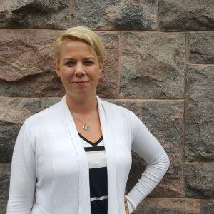 Johanna Sparf, Pams Helsingfors-Nylands regionchef.