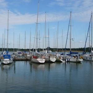 Airisto segelsällskaps hamn på Beckholmen