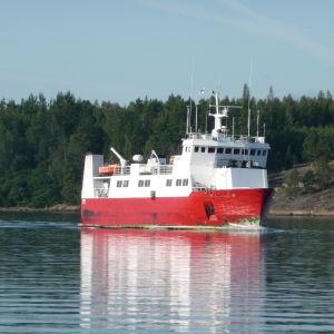 Förbindelsebåten Eivor.