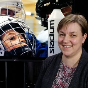 hockeymamman Ulrika Hellström