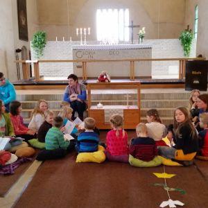 barn i Kyrkslätts kyrka
