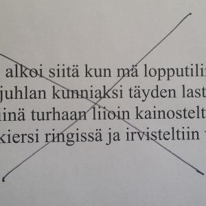 Text av Ei tippa tapa
